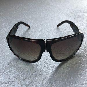 Dolce & Gabbana Folding Aviator Sunglasses